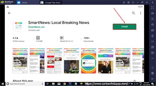 SmartNews For PC Windows 10/8.1/8/7/XP/Vista & Mac Download Free