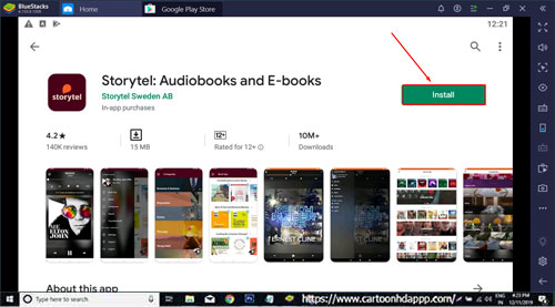 StoryTel Audiobook For PC Windows 10/8.1/8/7/XP/Vista & Mac Free Install