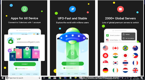 UFO VPN For PC Windows 10/8.1/8/7/XP/Vista & Mac