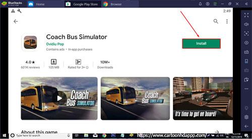 Coach Bus Simulator Download for PC Windows 10/8.1/8/7/Mac/XP/Vista Free
