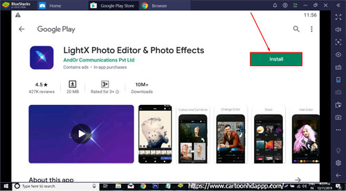 LightX Photo Editor for PC Windows 10/8.1/8/7/Mac/XP/Vista Download/ Install Free