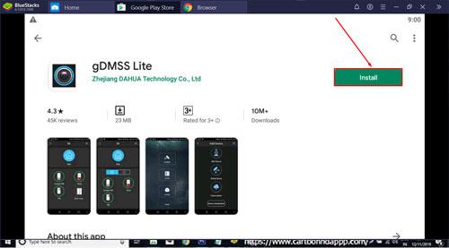gDMSS Lite for PC Windows 10/8.1/8/7/Mac/XP/Vista Free Install