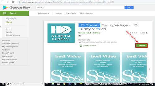 HD Streamz for PC Download/ Install on Windows 10/ 8/ 7 Free