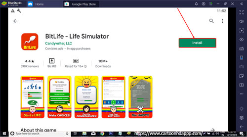 BitLife Life Simulator for PC Windows 10/8.1/8/7/Mac/XP/Vista Free Download/ Install