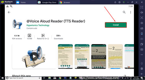 Voice Aloud Reader for PC Windows 10/8.1/ 8/7/Mac/XP/Vista Free Download/Install