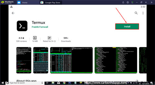 Termux for PC Windows 10/ 8/ 7/ Mac Note Book Free Download/ Install