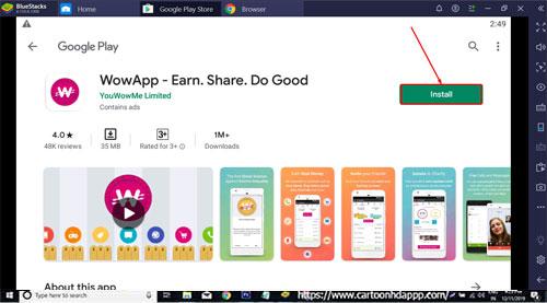 WowApp Download Free for PC Windows 10/8.1/8/7/Mac/XP/Vista Install