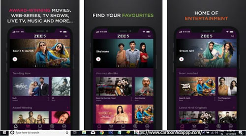ZEE5 for PC Windows 10/8.1/8/7/Mac/XP/Vista
