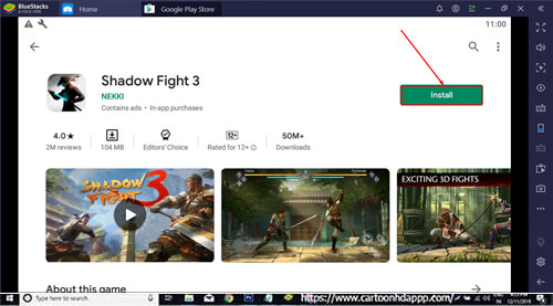 Shadow Fight 3 for PC Windows 10/8.1/8/7/Mac/XP/Vista Free Download/Install