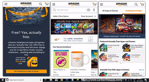 Amazon Underground for PC Windows 10/ 8.1/8/7/Mac/XP/Vista