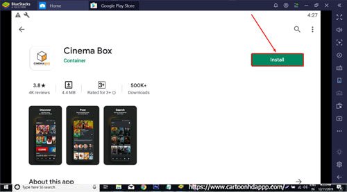 Cinema Box for PC Windows 10/8.1/7/Mac/XP/Vista Free Download/ Install
