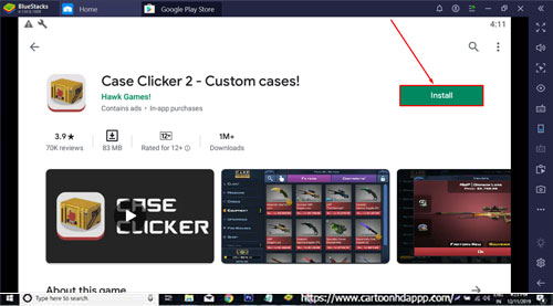 Case Clicker for PC Windows 10/.18/7/Mac/XP/Vista Free Download/ Install