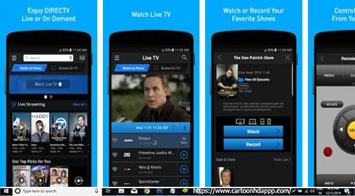 DirecTV Now App for PC Windows 10/8.1/8/ 7/Mac/XP/Vista