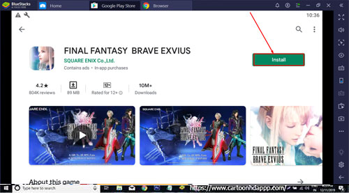 Final Fantasy Brave Exvius For PC Windows 10/8.18/7/Mac/XP/Vista Free Download/ Install