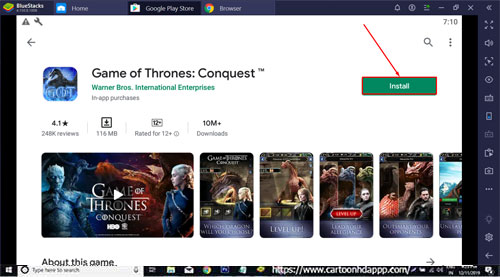 Game of Thrones Conquest for PC Windows 10/8.1/8/7/Mac/XP/Vista Free Download/Install