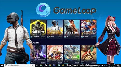 GameLoop Download for PC Windows 10/8.1/8/7/ Mac/XP/Vista
