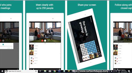 Google Meet For Pc Windows 10 8 1 8 7 Mac Downloadl Free