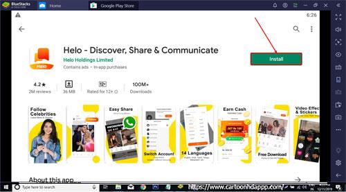 Helo App Download for PC Windows 10/8.1/8/7/Mac/XP/Vista Free Install