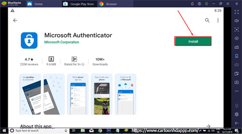 Microsoft Authenticator for Windows 10/8.1/8/7/PC/Mac/XP/Vista Free Download/Install