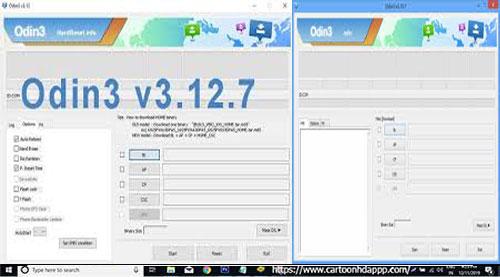 Odin3 v3.12.7 for PC Windows 10/8.1/8/7/ Mac/XP/Vista Free Download/Install