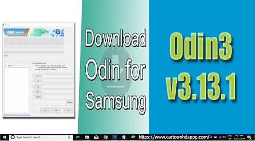 Odin3 v3.12.7 for PC Windows 10/8.1/8/7/ Mac/XP/Vista