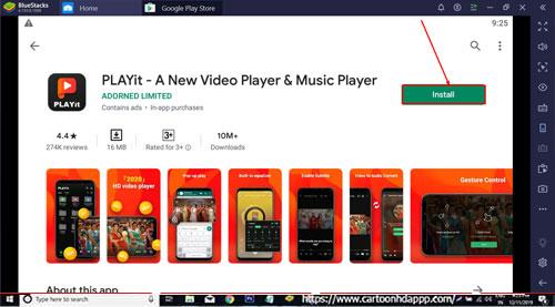 PLAYit Download for PC Windows 10/8.1/8/7/Mac/XP/Vista Install Free