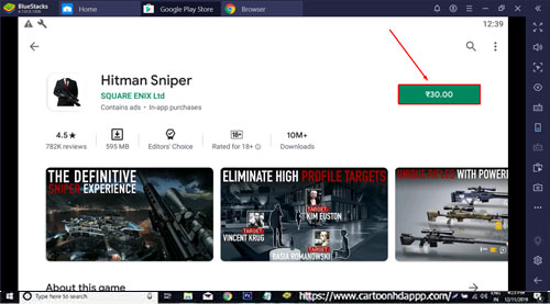 Hitman Sniper for PC Windows 10/8.1/8/7/Mac/XP/Vista Free Download/Install