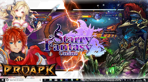 Starry Fantasy Online Guiden for PC Windows 10/8.1/8/7/Mac
