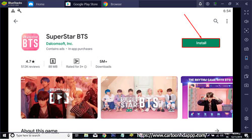 SuperStar BTS for PC Windows 10/8.1/8/7/Mac/XP/Vista Free Download/Install