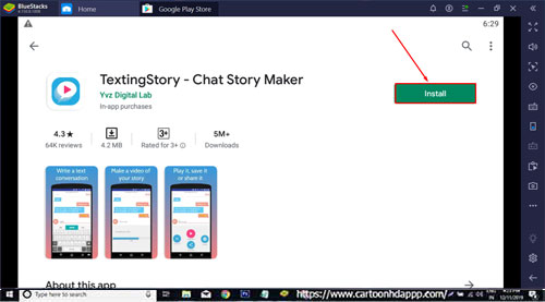 Texting Story Download for PC Windows 10/8.1/8/7/Mac/XP/Vista Free Install