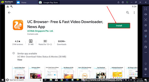 UC Browser Download for PC Windows 10/8.1/8/7/ Mac/XP/Vista Free Download/Install