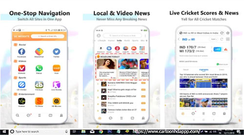 UC Browser Download for PC Windows 10/8.1/8/7/ Mac/XP/Vista