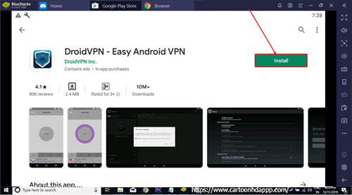 DroidVPN for PC Windows 10/8.1/8/7/Mac/XP/Vista Free Download/Install