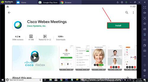 Cisco WebEx Meetings for Windows 10/8.1/8/7/PC/Mac/XP/Vista Free Download/Install