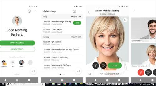 Cisco WebEx Meetings for Windows 10/8.1/8/7/PC/Mac/XP/Vista