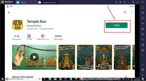 Temple Run for PC Windows 10/8.1/8/7/Mac/XP/Vista Free Download/Install
