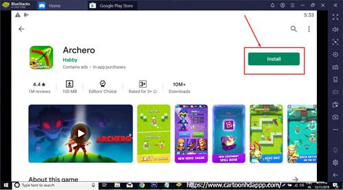 Archero Download for windows 10/8.1/8/7 PC/Mac/XP/Vista Free Install