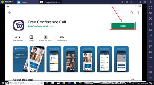 Free Conference Call Download for Windows 10/8.1/8/7/PC/Mac/XP/Vista  Free Install