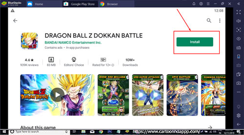 Dragon Ball Z Dokkan Battle for windows 10/8.1/8/7 PC/Mac/XP/Vista Free Download/Install