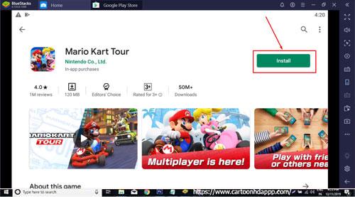 Mario Kart Tour Download for Windows 10/8.1/8/7 PC/Mac/XP/Vsita Free Install
