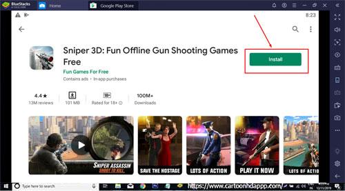 Sniper 3D Download for PC Windows 10/8.1/8/7/Mac/XP/Vista Free Install