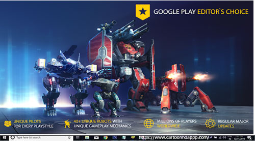 War Robots Download for PC Windows 10/8.1/8/7/Mac/XP/Vista