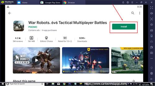 War Robots Download for PC Windows 10/8.1/8/7/Mac/XP/Vista Free Install