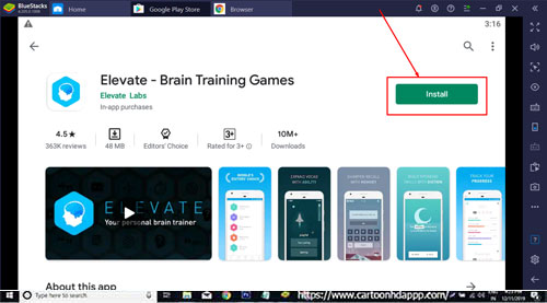 Elevate For Windows 10/8/7 PC Download now for Free