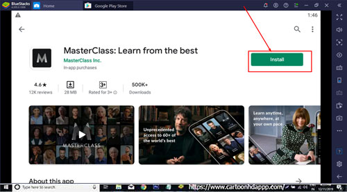 MasterClass for Windows 10