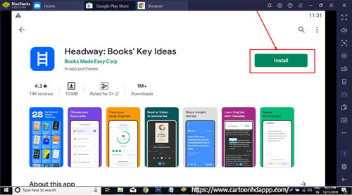 Headway for Windows 10 free