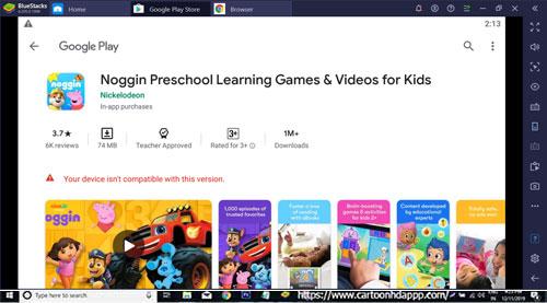 Noggin Preschool Learning Games For Windows 10