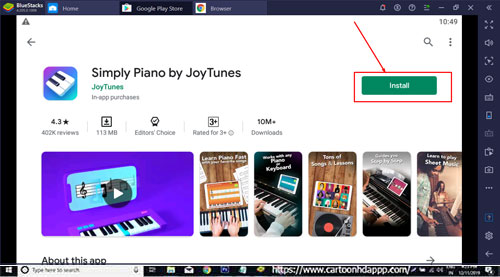 Simply Piano by JoyTunes for Windows 10