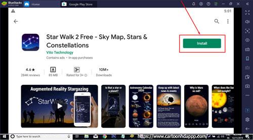 Star Walk 2 Free for Windows 10