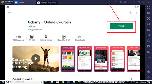 Udemy for Windows 10